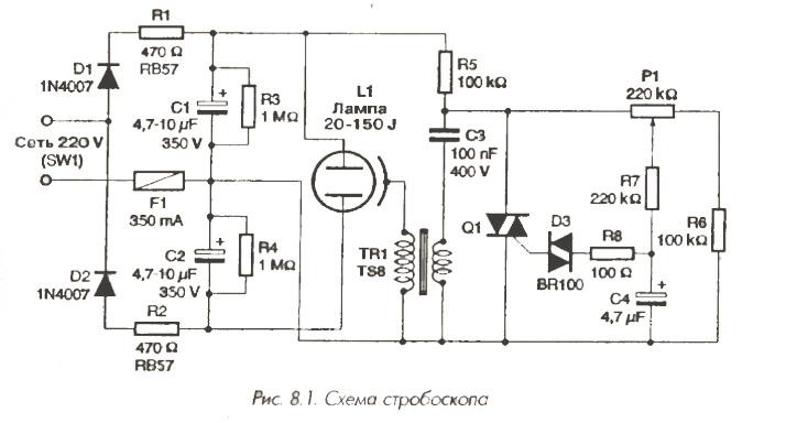 Лампы на 150 Дж иЭлектрическая